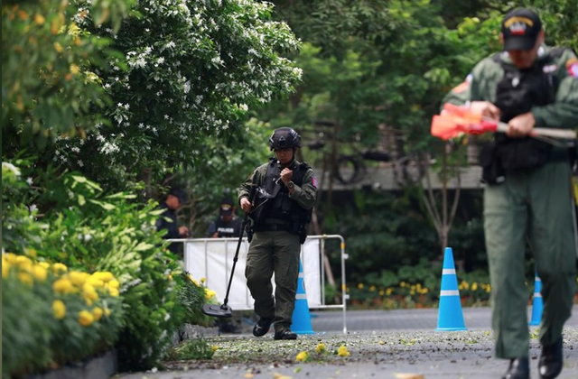 3 vụ đánh bom ở Bangkok khi Hội nghị ASEAN diễn ra - Ảnh 1.