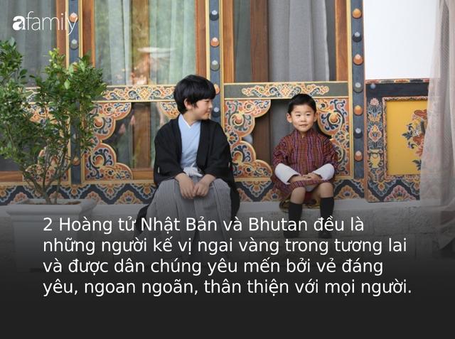 Hoàng hậu Bhutan đọ sắc Thái tử phi Nhật Bản nhưng 2 Hoàng tử nhỏ mới là tâm điểm chú ý, khiến người dùng mạng rần rần - Ảnh 9.