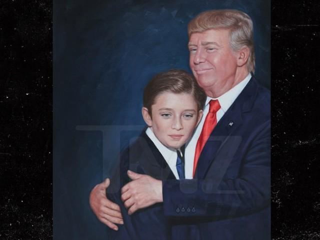 Donald Trump và tình yêu làm cha ở tuổi 60 dành cho cậu con trai út  - Ảnh 1.