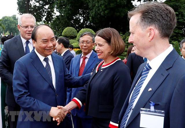 Thủ tướng đón, hội đàm với Thủ tướng Australia Scott Morrison - Ảnh 2.