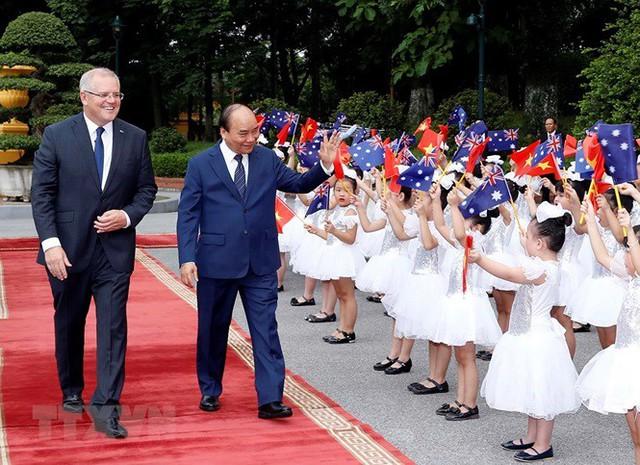 Thủ tướng đón, hội đàm với Thủ tướng Australia Scott Morrison - Ảnh 6.