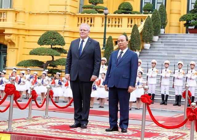 Thủ tướng đón, hội đàm với Thủ tướng Australia Scott Morrison - Ảnh 8.