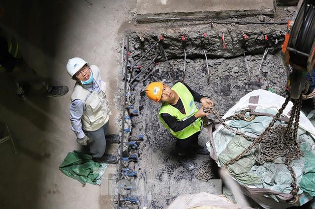 Cận cảnh đường hầm Metro số 1 dưới lòng Sài Gòn - Ảnh 14.