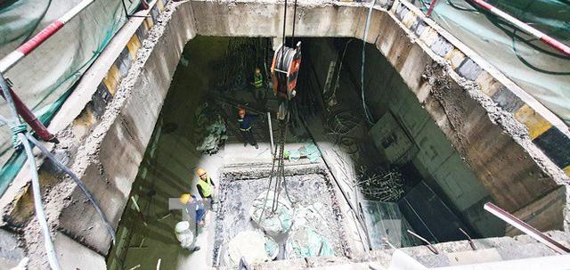 Cận cảnh đường hầm Metro số 1 dưới lòng Sài Gòn - Ảnh 5.
