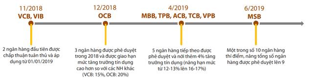 """""""Ông lớn"""" ngân hàng ngậm ngùi đi sau trong cuộc đua Basel II - Ảnh 1."""