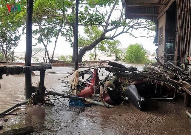 Hiện trường sau cơn thủy triều khủng khiếp tại Cà Mau - Ảnh 13.