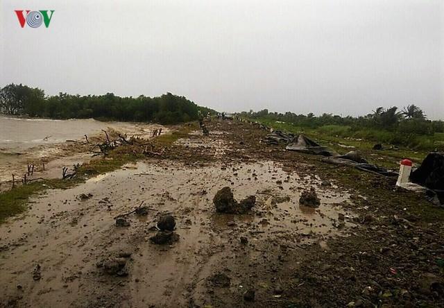 Hiện trường sau cơn thủy triều khủng khiếp tại Cà Mau - Ảnh 15.