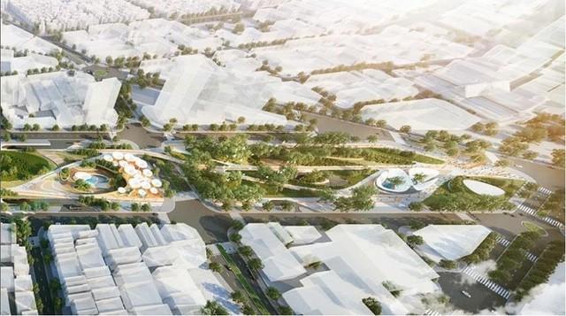Hình hài Công viên 23-9 qua hai thiết kế đoạt giải - Ảnh 4.
