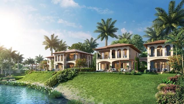 Biệt thự nghỉ dưỡng tại NovaBeach Cam Ranh Resort & Villas được thiết kế theo phong cách Địa Trung Hải sang trọng