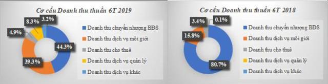 TTC Land: Doanh thu thuần mảng chuyển nhượng BĐS 6 tháng đầu năm giảm xuống còn 44% - Ảnh 1.