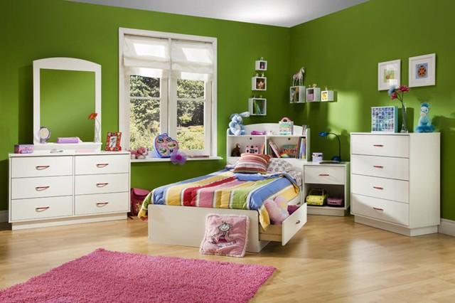 Ngắm những căn phòng độc đáo cho trẻ nhỏ với gam mầu ấn tượng - Ảnh 1.