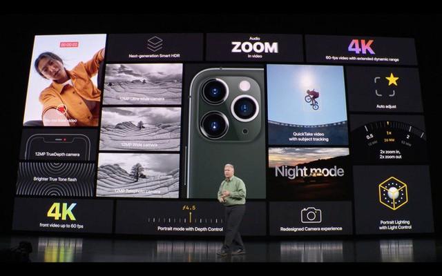 Apple ra mắt iPhone 11 Pro và iPhone 11 Pro Max: Thiết kế pro, màn hình pro, hiệu năng pro, pin pro, camera pro và mức giá cũng pro - Ảnh 18.