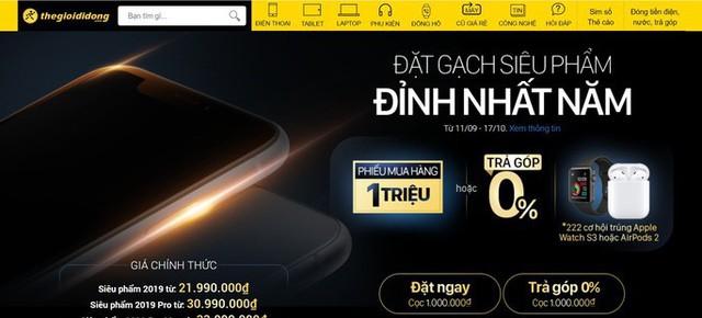 Nhà bán lẻ rục rịch cho khách hàng đặt hàng iPhone 11  - Ảnh 1.