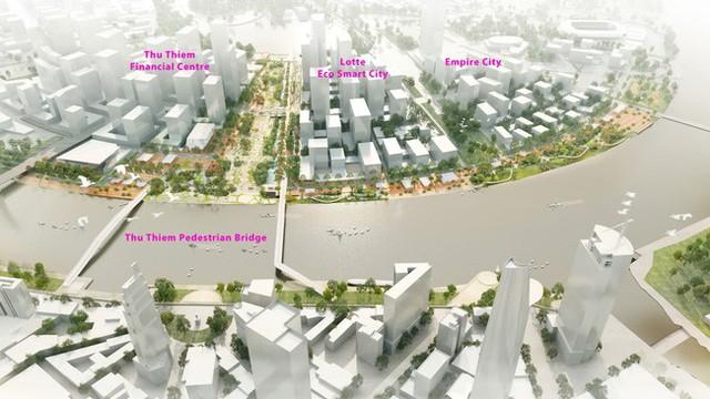 Động thái mới ở Dự án tỉ USD Thu Thiem Ecosmart City - Ảnh 1.