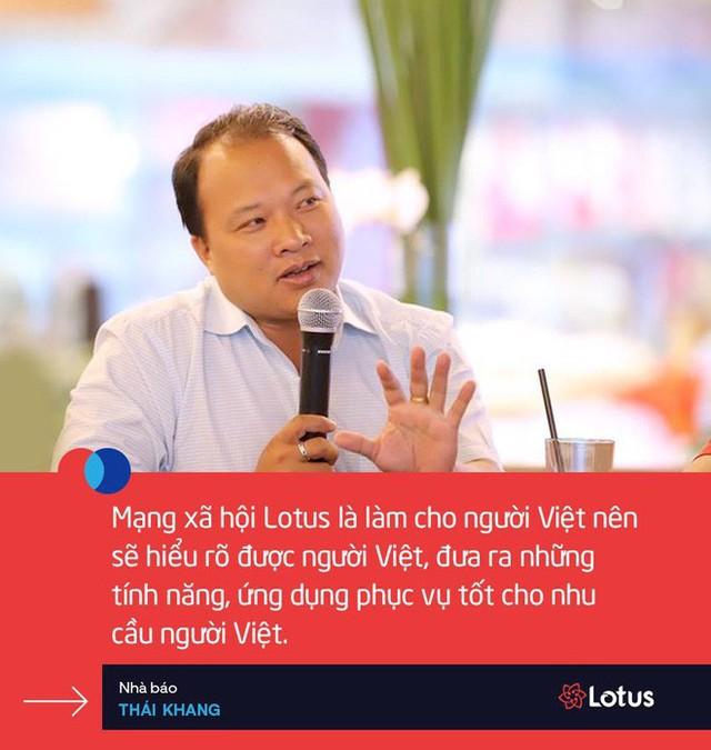 Chính thức ra mắt Lotus - Mạng xã hội của người Việt! - Ảnh 15.