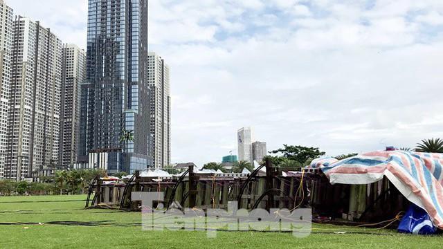 'Đột kích' trận địa pháo hoa mừng Quốc khánh trước giờ khai hỏa ở TPHCM - Ảnh 8.