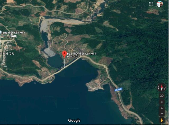 Những dòng sông chết dưới chân đập thủy điện Đắk Mi 4 - Ảnh 1.