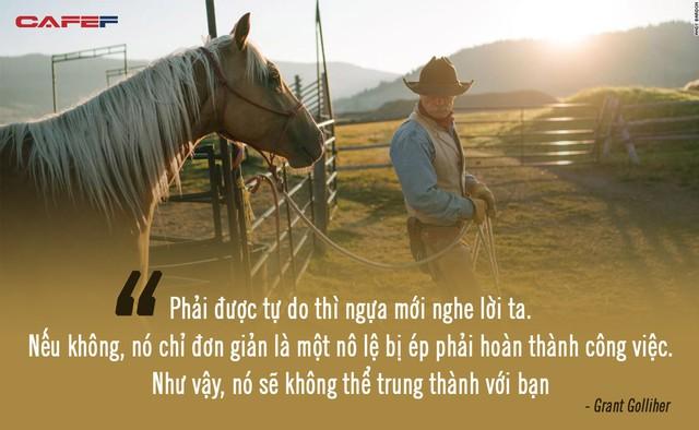 Kỳ lạ giới doanh nhân, CEO đổ xô đi xem huấn luyện ngựa: Đừng nghĩ đây là trò vô bổ, nghệ thuật lãnh đạo đằng sau mới là điều đáng ngẫm! - Ảnh 2.
