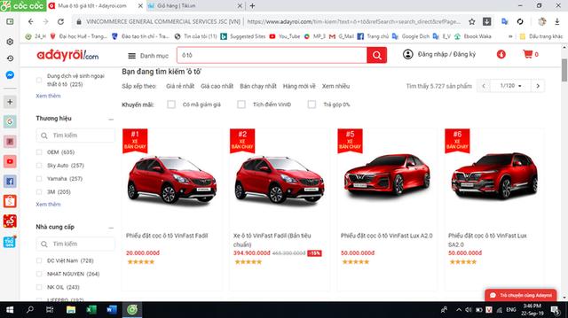 Ngồi một chỗ mua được ô tô… nhờ cú click chuột - Ảnh 1.