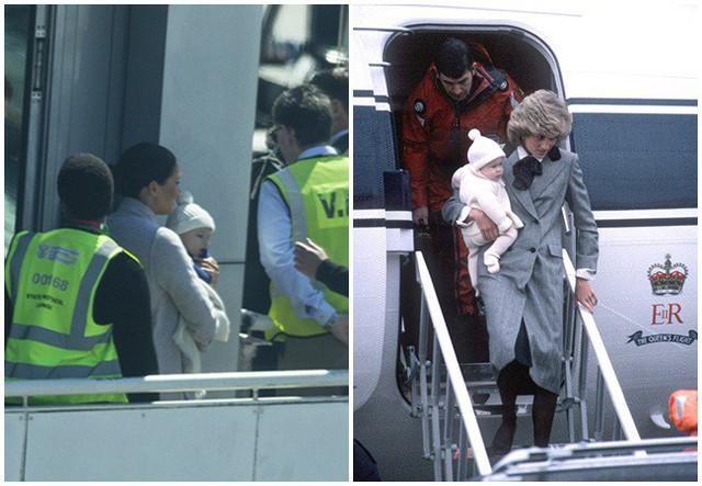 Meghan Markle bế con trai xuất hiện tại sân bay, bắt đầu chuyến công du, ghi điểm tuyệt đối nhờ hành động tinh tế  - Ảnh 6.