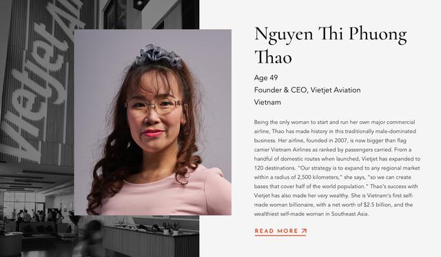CEO Vietjet và Nutifood lọt top nữ doanh nhân quyền lực châu Á năm 2019 - Ảnh 1.
