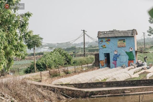 7 sinh viên biến làng trồng rau củ thành làng bích họa đầu tiên của Hà Nội - Ảnh 9.