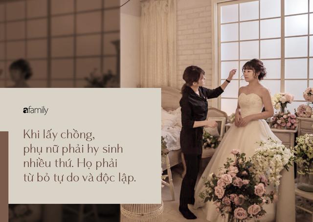 Phụ nữ Nhật Bản thời hiện đại: Tự kết hôn với chính mình, coi việc lấy chồng là tự dồn mình vào góc tường, khiến các đấng mày râu ế vợ, chính quyền lo lắng - Ảnh 2.