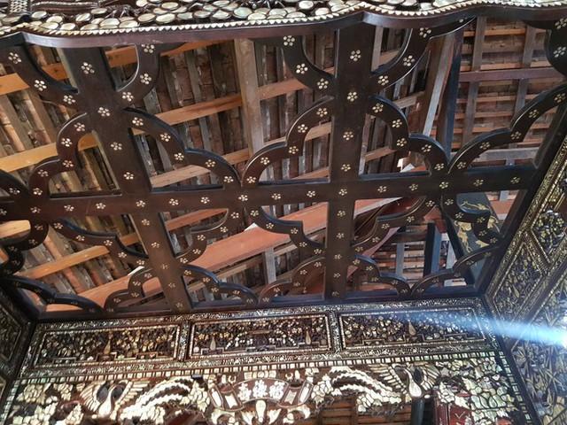 Độc đáo chiếc giường cổ có giá bạc tỷ ở Đồng Tháp - Ảnh 5.