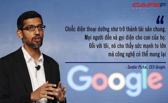 Trước khi lên đại học không có nổi chiếc máy tính xách tay, xa lạ với công nghệ nhưng CEO Google lại nghĩ chính thế lại hay  - Ảnh 1.