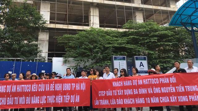 """Qua 1 thập kỷ dự án Hattoco 110 Trần Phú vẫn chỉ là """"khung bê tông"""" - Ảnh 1."""