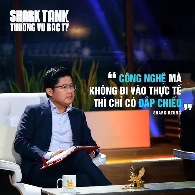 Shark Dzung Nguyễn bất ngờ tiết lộ có tới 4/7 thương vụ quyết định rót vốn trên Shark Tank bị startup từ chối nhận tiền - Ảnh 1.
