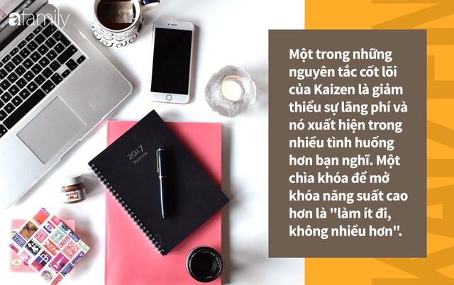 Triết lý Kaizen của Nhật Bản: 3 bước đơn giản mỗi ngày để cải thiện cuộc sống của bạn, giúp bạn trở nên hạnh phúc hơn - Ảnh 3.