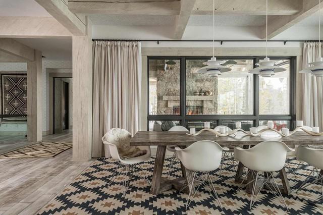 Tham khảo cách thiết kế phòng ăn đơn giản, mộc mạc và tinh tế - Ảnh 8.