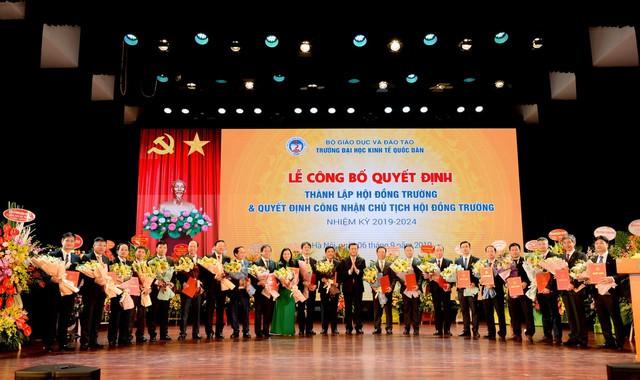 GS.TS. Trần Thọ Đạt làm Chủ tịch Hội đồng trường ĐH Kinh tế Quốc dân - Ảnh 1.