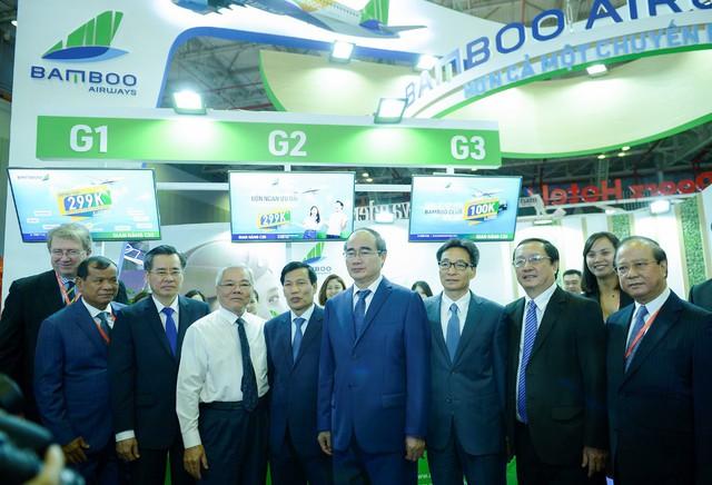 Bamboo Airways dự kiến bán được hơn 10.000 vé máy bay và combo du lịch dịp Hội chợ Du lịch quốc tế - Ảnh 1.