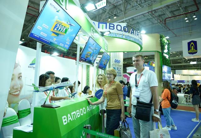 Bamboo Airways dự kiến bán được hơn 10.000 vé máy bay và combo du lịch dịp Hội chợ Du lịch quốc tế - Ảnh 2.