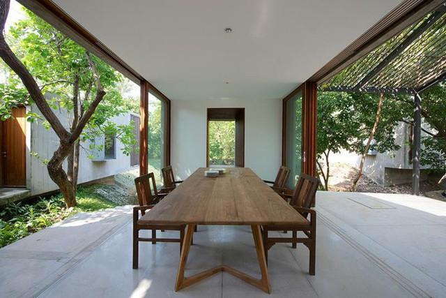 Ngôi nhà không cửa hòa mình với thiên nhiên đẹp khó cưỡng - Ảnh 4.