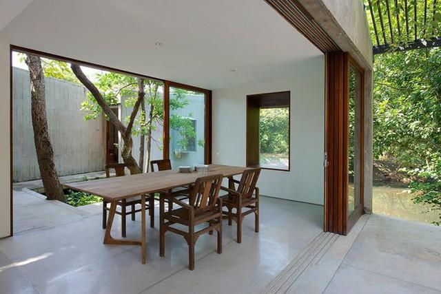 Ngôi nhà không cửa hòa mình với thiên nhiên đẹp khó cưỡng - Ảnh 5.