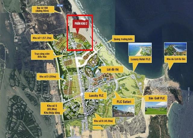 Bình Định tuýt còi dự án Nhơn Hội New City huy động vốn trái phép - Ảnh 1.