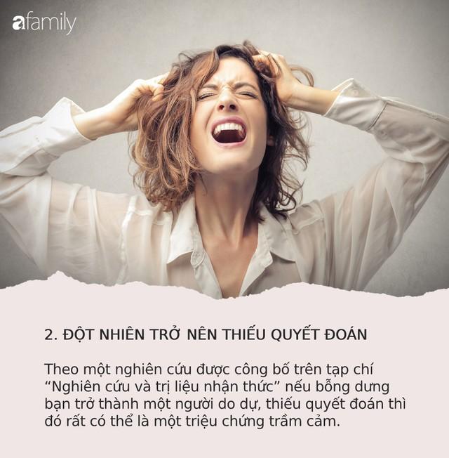 Mỗi năm có 40.000 người Việt tự tử vì trầm cảm: 9 dấu hiệu cảnh báo bệnh mà bạn cũng không thể ngờ tới - Ảnh 2.