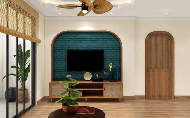 Nội thất tre gỗ giúp ngôi nhà đượm chất hoài cổ nhưng vẫn sang trọng - Ảnh 3.
