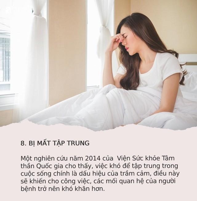 Mỗi năm có 40.000 người Việt tự tử vì trầm cảm: 9 dấu hiệu cảnh báo bệnh mà bạn cũng không thể ngờ tới - Ảnh 8.