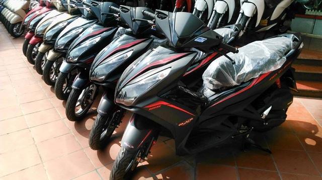 Hết thời đỉnh cao, thị trường xe máy vào kỳ ảm đạm - Ảnh 1.