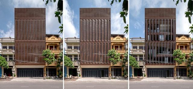 Độc đáo ngôi nhà 5 tầng biết thở ở Bắc Ninh - Ảnh 3.