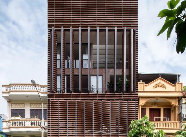 Độc đáo ngôi nhà 5 tầng biết thở ở Bắc Ninh - Ảnh 5.