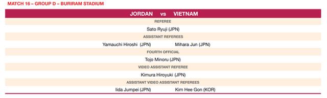 Được trọng tài thương ngày mở màn, U23 Việt Nam lại có thể hài lòng về người cầm còi trận gặp Jordan: Đến từ Nhật Bản, đang giữ một kỷ lục của bóng đá Việt  - Ảnh 2.