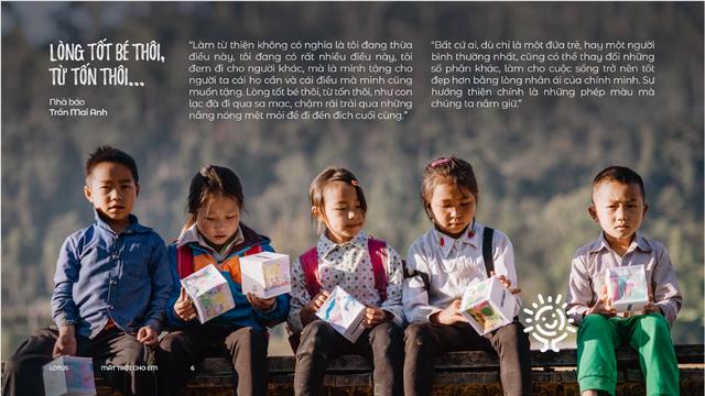Mặt trời cho em: Lần đầu tiên tương tác với mạng xã hội có thể giúp bạn tạo ra những điều phi thường, giúp các em nhỏ khó khăn đổi đời - Ảnh 3.