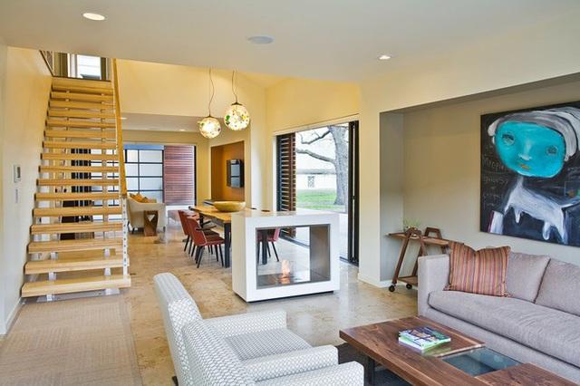 Thiết kế nội thất thông minh cho nhà vô cùng độc đáo và tiện lợi - Ảnh 2.