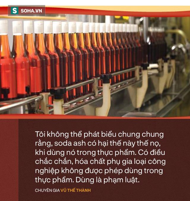 Chuyên gia Vũ Thế Thành đọc vị thực chất của nước mắm soda công nghiệp: Đừng nhân danh cái này loại trừ cái kia!  - Ảnh 1.