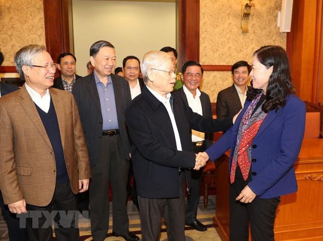 Tổng Bí thư, Chủ tịch nước chủ trì phiên họp về phòng chống tham nhũng - Ảnh 3.